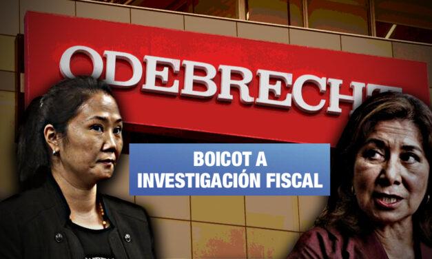 Martha Chávez buscaría que Odebrecht deje de confesar cómo Keiko recibió dinero ilícito