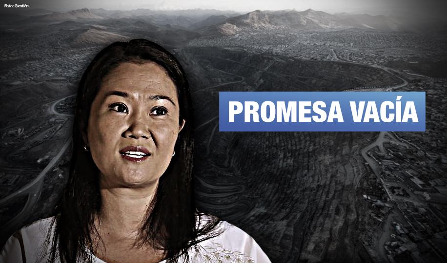 Especialistas cuestionan propuesta de Keiko Fujimori sobre aumento del canon