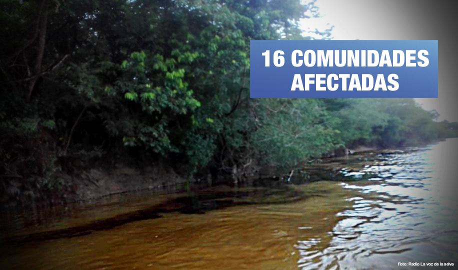 Pluspetrol: otro derrame de petróleo impacta el río Corrientes en Loreto