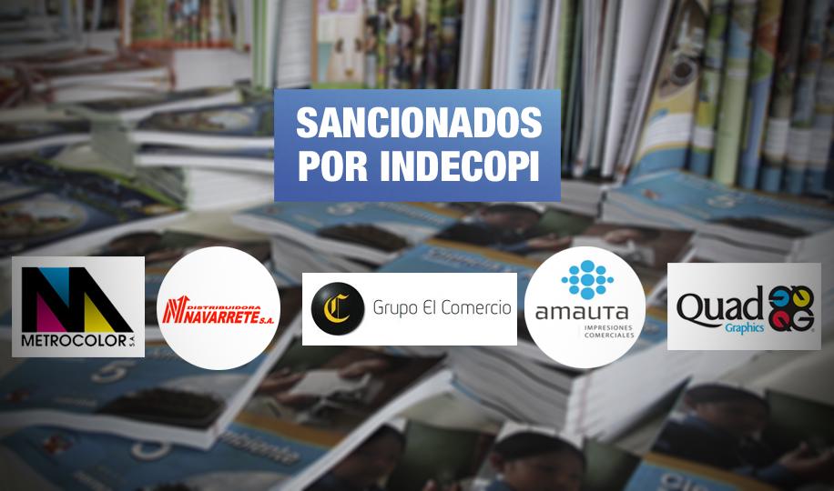 Editora del Grupo El Comercio integró cártel para repartirse licitaciones del Minedu