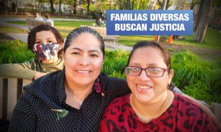 Madres lesbianas exponen ante juez demanda contra Reniec para que las registre en DNI de su hijo