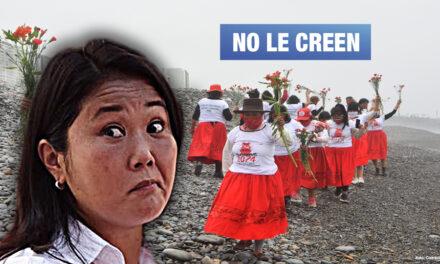 Víctimas de las esterilizaciones forzadas rechazan supuesto compromiso de Keiko Fujimori