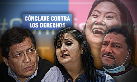 Keiko Fujimori recurre a alianza con pastores de Con Mis Hijos No Te Metas