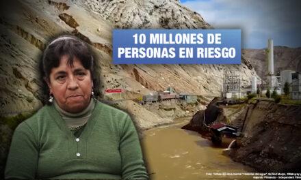Yolanda Zurita, afectada por metales pesados: «Sobre nosotras recae el sufrimiento de nuestras familias»