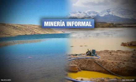 Comunidades de Puno inician paro de 48 horas por contaminación de minería informal
