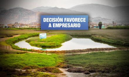 Cuatro regidores del Callao votan en perjuicio de los humedales de Ventanilla