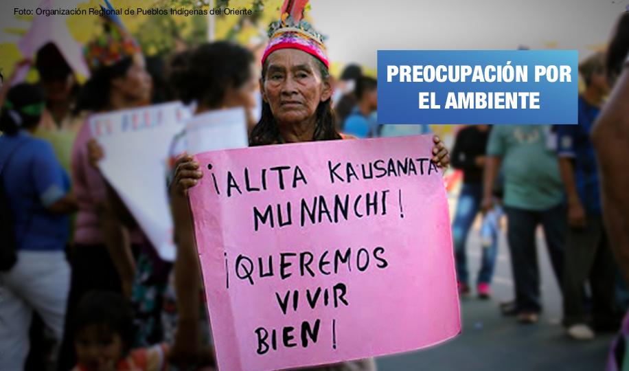 Pueblos indígenas de Loreto logran compromiso ambiental de candidato
