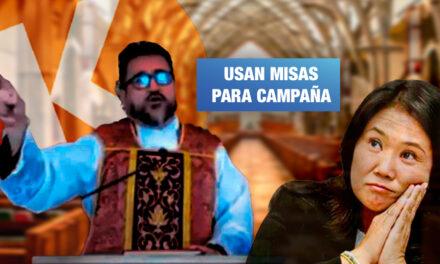 Sacerdotes católicos hacen campaña a favor de Keiko Fujimori