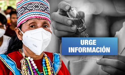 El 66% de ciudadanos indígenas no quiere vacunarse contra la Covid por desconocimiento