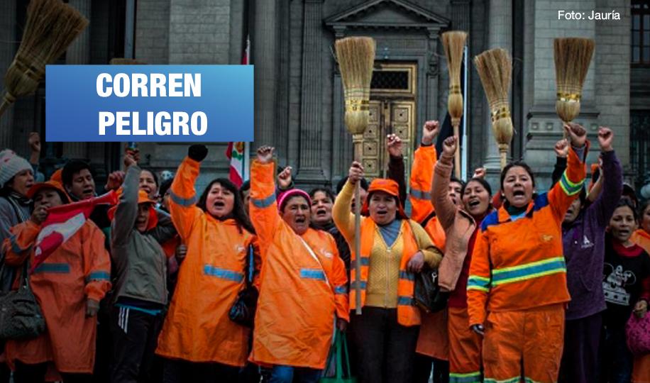 Denuncian amenazas contra otro dirigente del sindicato de trabajadores de limpieza