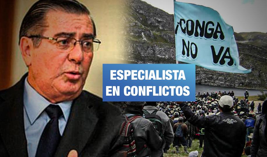 Oscar Valdés: de represor de protestas en Conga a técnico del fujimorismo