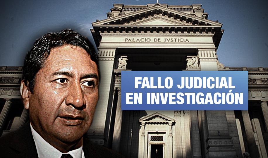 OCMA y Procuraduría del PJ alistan medidas contra juez que anuló sentencia de Vladimir Cerrón