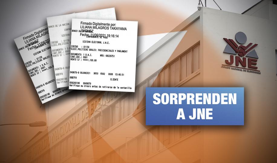 Fuerza Popular reutilizó vouchers para ingresar 30 pedidos de nulidad
