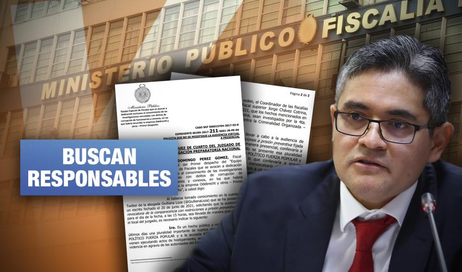 Fiscalía contra crimen organizado investiga ataques fujimoristas hacia José Domingo Pérez