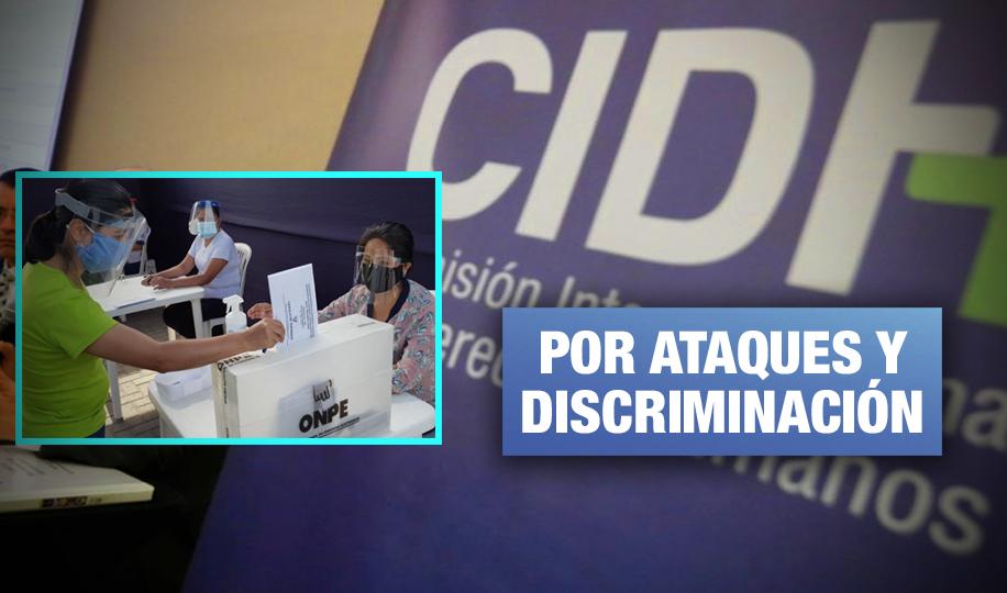 CIDH expresa su preocupación por hostigamiento a autoridades electorales de Perú