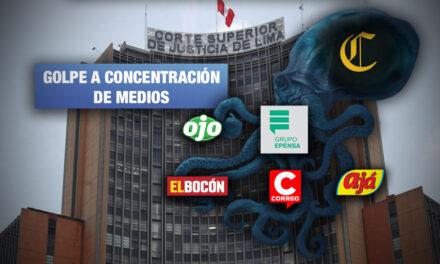 Corte Superior de Lima declara nula venta de Epensa a El Comercio