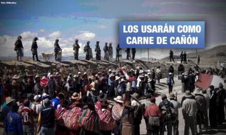 Pleno del Congreso insiste en aprobar proyecto que busca militarizar los pueblos indígenas