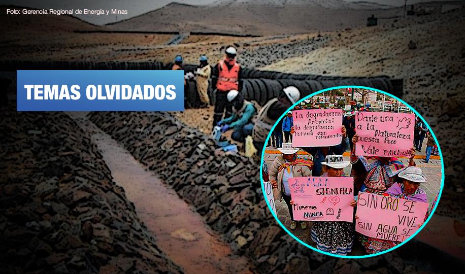 Pocas propuestas y continuismo en minería y medioambiente