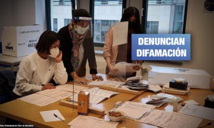 Personeros de Perú Libre en Alemania desmienten a López Aliaga sobre supuesto pago