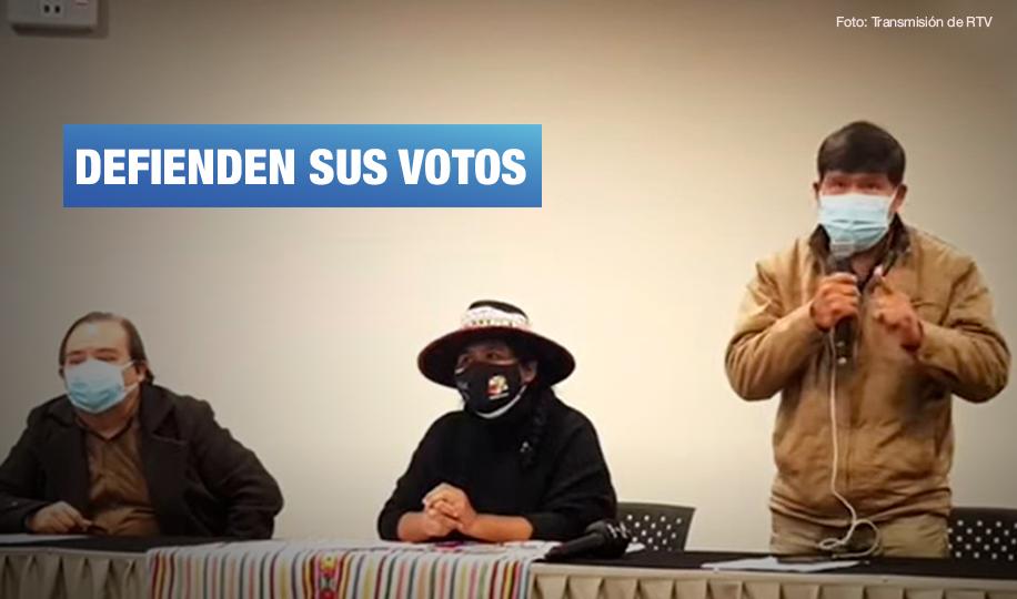 """Pueblos indígenas sobre acciones de Keiko: """"No se está respetando la institucionalidad democrática"""""""