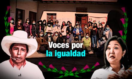 Mujeres cusqueñas ofrecen  propuestas a candidatos que no las tienen