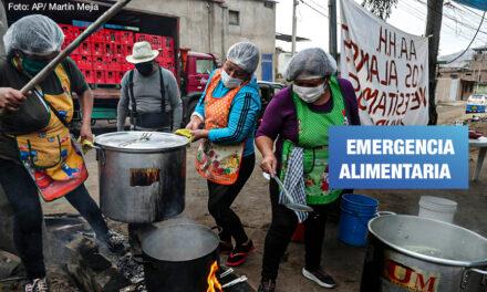 Lima: 243 mil personas dependen de las ollas comunes para recibir al menos una comida al día
