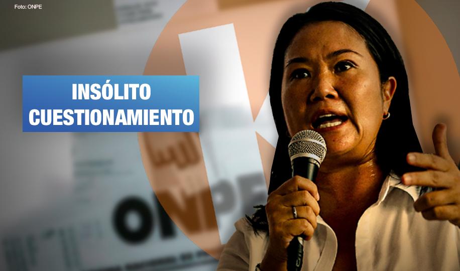 JNE: En elecciones de 2011 y 2016 ningún partido político pidió anular 802 actas