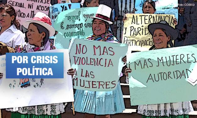 Activistas y líderes indígenas advierten escenario crítico para la democracia