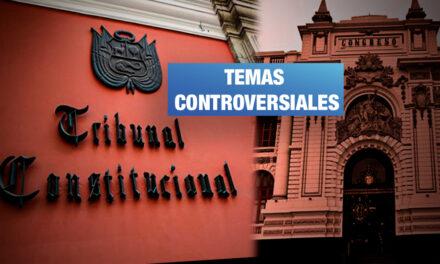 Candidatos al TC fueron consultados por inmunidad parlamentaria, publicidad estatal y exoneraciones tributarias