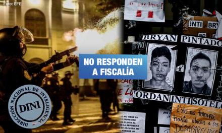 Inteligencia de PNP no da información sobre presuntos asesinos de Inti y Bryan