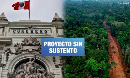 Ejecutivo pide archivar ley de carretera Amazónica por afectar territorios indígenas