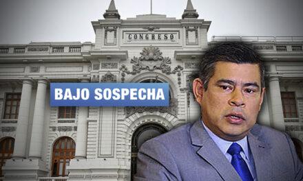 Admiten denuncia contra Galarreta por contratación de 17 trabajadores en el Congreso