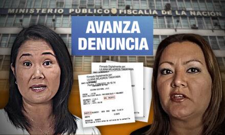 Inician investigación preliminar contra Keiko y personera legal de Fuerza Popular por vouchers repetidos