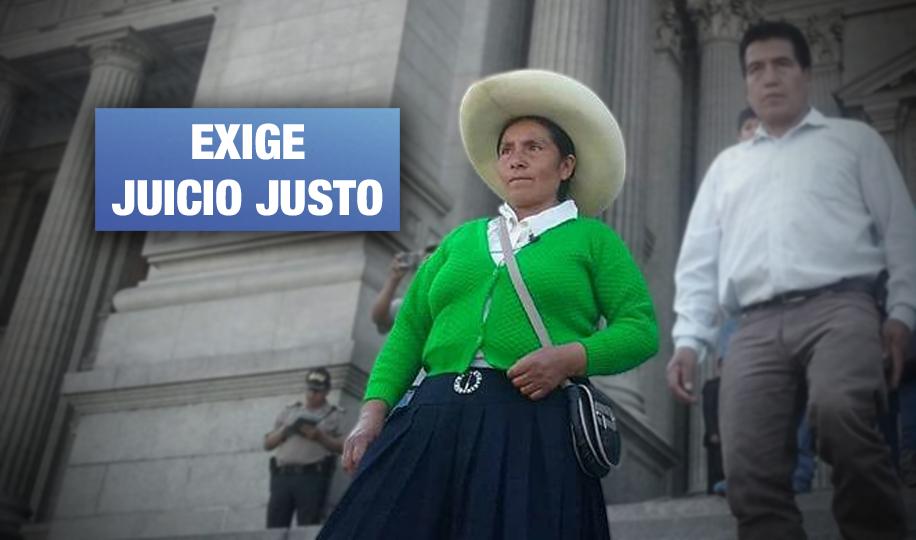 Máxima Acuña envía petición a Corte Suprema de Estados Unidos por caso contra minera Newmont