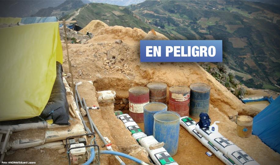 Alertan aparición de minería informal en Valle de Condebamba en Cajamarca
