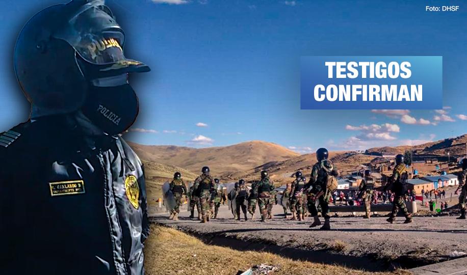 Identifican a comandante responsable de represión policial que dejó 15 heridos en Chumbivilcas