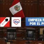 Congreso: Renovación Popular, Acción Popular y Somos Perú presiden listas para elección de Mesa Directiva