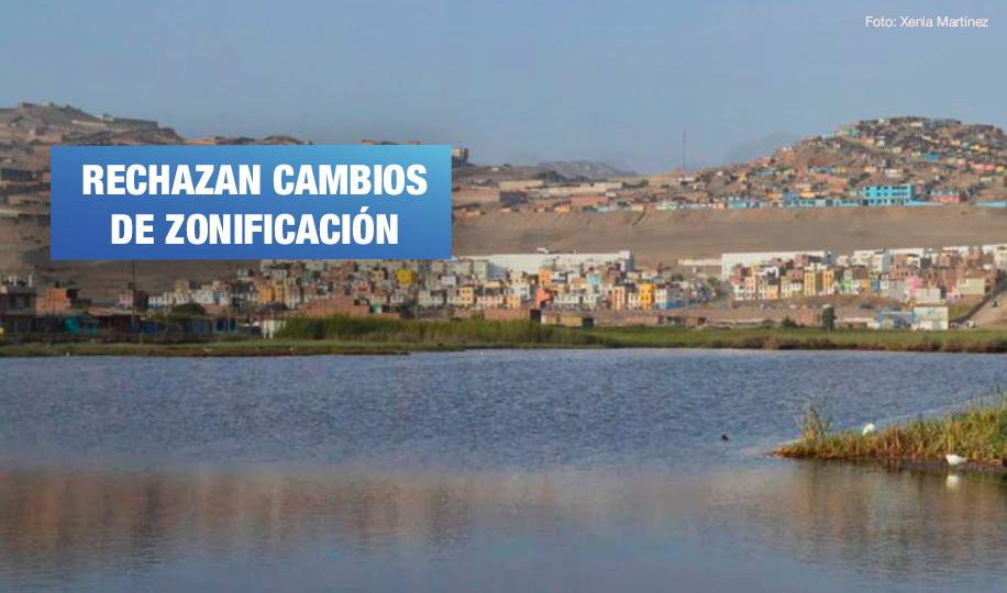 Colegio de Biólogos del Callao se pronuncia en defensa de los humedales de Ventanilla