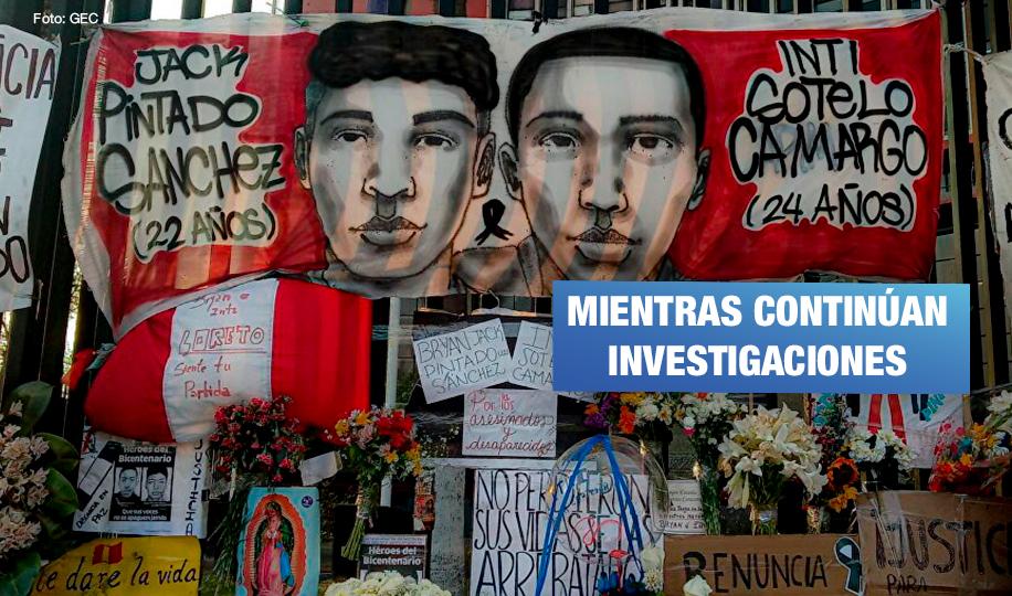 Ejecutivo dará apoyo económico a familias de víctimas de marcha contra Merino y Paro Agrario