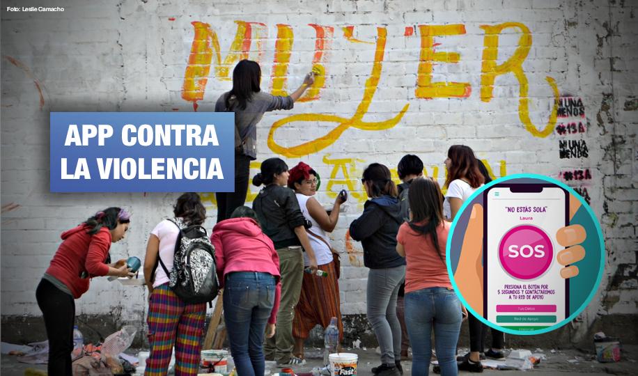 Crean App de celular para reportar violencia de género y recibir asistencia inmediata
