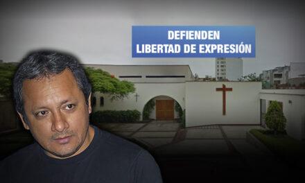 Defensa de periodista Daniel Yovera señala que se pretende criminalizar a quienes investigan al Sodalicio