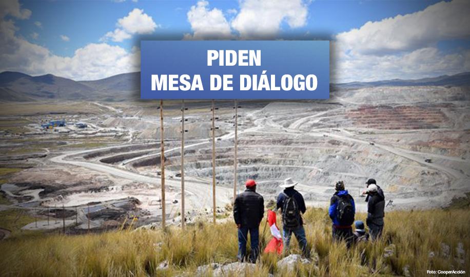 Espinar también exige la presencia del gobierno por conflicto con minera Antapaccay