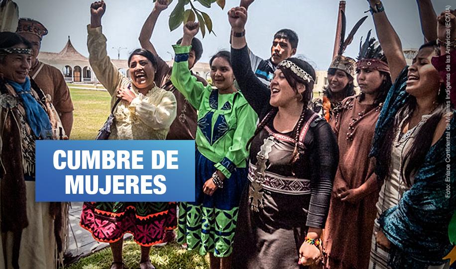 Mil lideresas indígenas de Latinoamérica llegarán a Lima para Cumbre de mujeres