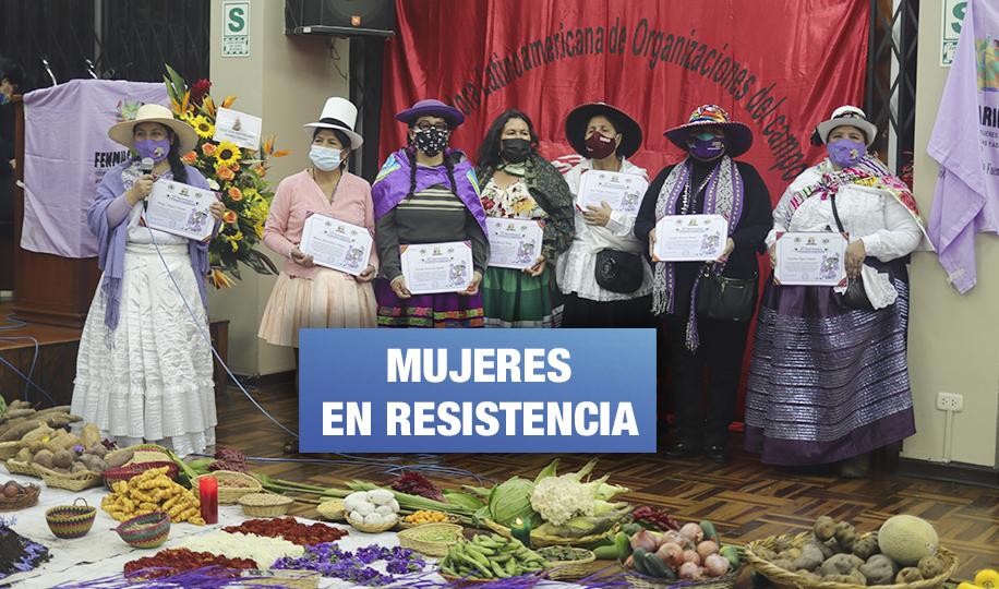 Lideresas indígenas piden a Gobierno respetar derechos de las mujeres y LGBTI