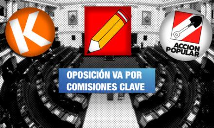 Comisiones de Fiscalización y Constitución son las más disputadas por bancadas