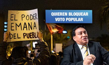 Luna presenta proyecto de ley para impedir que Gobierno impulse propuestas a referéndum