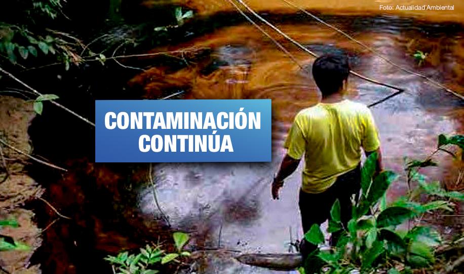 Se reportaron 4 derrames de petróleo durante transferencia de gobierno