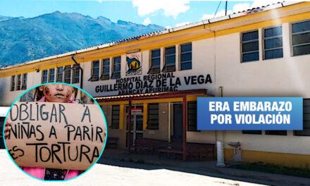 Hospital Regional de Abancay es multado con S/ 50 mil por negar aborto terapéutico a niña