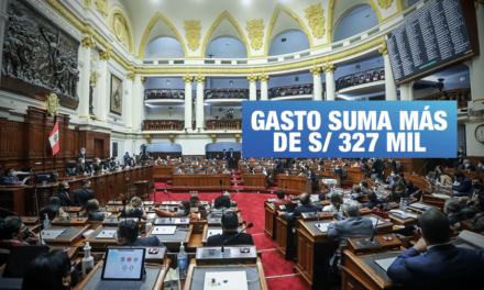Congresistas cobran S/ 15 600 por gastos de instalación a pesar de vivir en Lima
