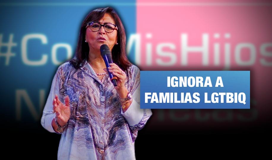 Congresista difunde agenda homofóbica en celebración del Día de la familia peruana
